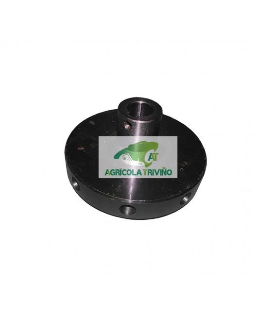 Platillo de giro sinfín para eje de 25 mm