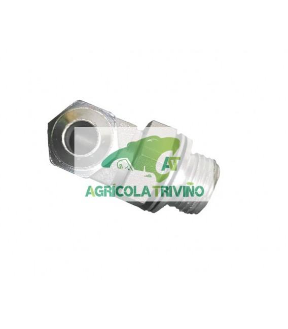 Codo orientable 1/2 GAS a 3/4 JIC