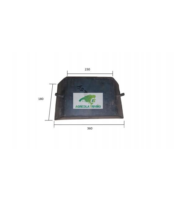 TACO FRONTAL PINZA CANGREJO/TENAZA BLANDO 50SH 360X180X60